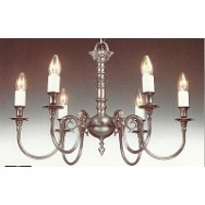 6 Lt Chandelier, Albert Bartram