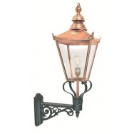 Chelsea copper wall lantern (up)