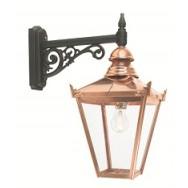 Chelsea copper wall lantern (down)