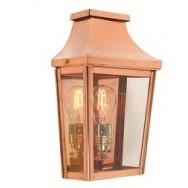 Chelsea copper wall lantern (half)