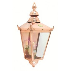 Chelsea copper wall lantern (half)