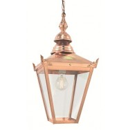 Chelsea copper lantern (chain)