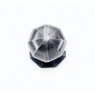 Octagonal smooth knob