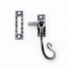 Casement Fastener with Mortice Plate - Hooked