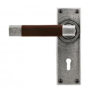 Door Lever Jedburgh (Chocolate)- Lock