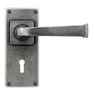 Allendale- Door Knob on 'JESMOND' Lock Backplate