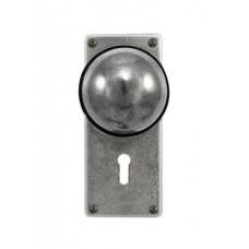 Beamish - Door Knob on 'JESMOND' Lock Backplate