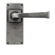 Allendale- Door Knob on 'JESMOND' Short Latch Backplate