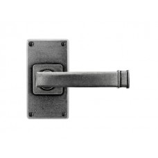 Skelton- Door Knob on 'JESMOND' Short Latch Backplate