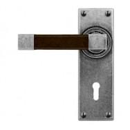 Door Lever Eden (Walnut)- Lock