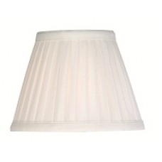 Pleated Ivory Candle Shade