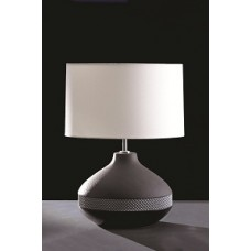 Max Round Lamp shown with optional Off White 36cm Cylinder Shade LS1027