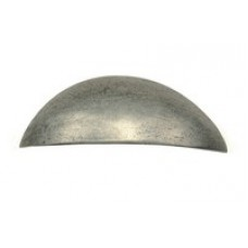 Wilton Smooth Genuine Pewter Cup Handle