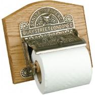 Toilet roll holder - aged nickel