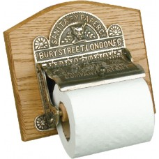 Toilet roll holder - aged nickel